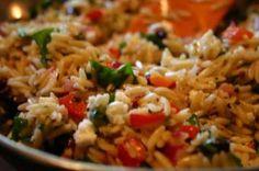 Zesty Orzo Salad