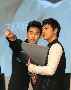 Kim Soo Hyun y Yeo Jin Goo, mis amores