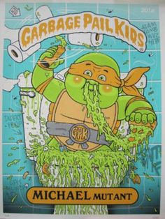 Garbage Pail Kids Michael Mutant