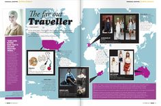 Magazine Layout - The Far Out Traveller