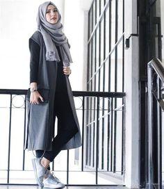 Trend Model Busana Hijab Casual Remaja Terbaru 2016 2017 Hijab Fashion  Style 620214e2ce