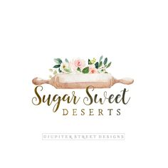 Find tips and tricks, amazing ideas for Bakery logo design. Discover and try out new things about Bakery logo design site Logo Patisserie, Patisserie Design, Bakery Design, Dessert Logo, Branding And Packaging, Branding Kit, Baking Logo Design, Logo Foto, Logo Fleur