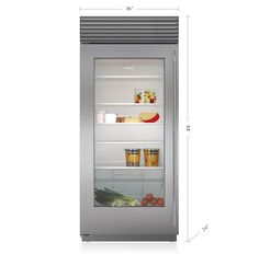 Before and after los angeles project los angeles angeles and an advanced glass front refrigerator is a highly requested staple in many a list homes built in over and under glass door refrigerator sub zero wolf planetlyrics Choice Image