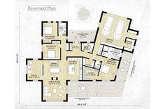 Modern Style House Plan   3 Beds 2.5 Baths 2116 Sq/Ft Plan #924