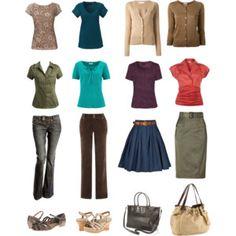 Capsule Wardrobe for Dark Autumn