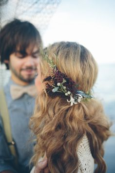 a sweet & wild floral crown