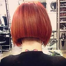 Image result for image short haircut shaved design back view
