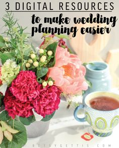 Heavens to Betsy: 3 Digital Resources to Make Wedding Planning Easier
