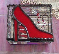 Shoe box ... get it? ... A SHOE BOX!  (I'm cracking myself up!)