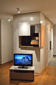 Moderne Wohnzimmer Gestaltung Tv Schrank