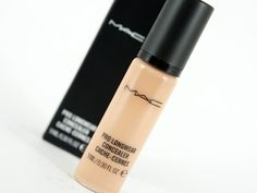 MAC Pro Longwear Concealer -- my HG under eye concealer. Doesn't settle in fine lines, crease or travel.