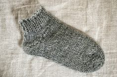 la casita: toe-up socks tutorial