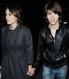 Alexa Chung and Alex Turner ((they were so cute together)