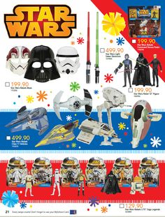 These ARE the droids you're looking for! Let the force be strong with our festive #StarWars specials on everything you need to be a jedi (or sith). #LetsPlay