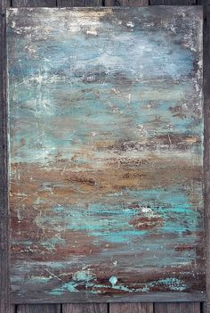 24 x 36 Modern Minimalist Texture Abstract Painting