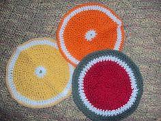 Tooty Fruity washcloths (open)