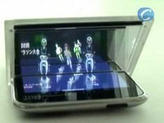 Image projection on different planes using a smartphone and giving the illusion of depth