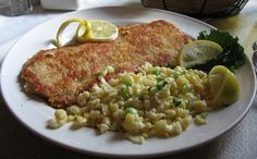 Scaloppine is an Italian term describing a thin scallop of meat (most often veal). They are also known as veal cutlets.