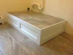 To Build or Buy your Washer & Dryer Platforms… | Design Custom Homes
