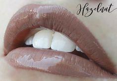 Hazelnut shown with Glossy Gloss, Neutral, Matte #LipSense #Matte
