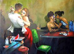 PINTORES LATINOAMERICANOS-JUAN CARLOS BOVERI: Pintores ... www.pintoreslatinoamericanos.com610 × 448Buscar por imagen la silla verde Rafael 'Felo' Garcia PINTOR - Buscar con Google