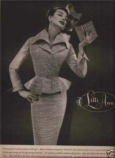 Lilli Ann Fashion Advertisement 1956