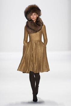 If Kate Middleton Lived on the Upper East Side . . .: The uptown set (and that honorary UES'er across the pond, Kate Middleton) should be all over Badgley Mischka's Fall 2014 collection.