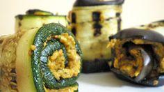 Ricetta Vegan Involtini con pomodorini ciliegini secchi biologici. Zucchini, The Cure, Vegetables, Food, Meal, Essen, Vegetable Recipes, Hoods, Meals