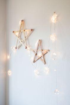 DIY: estrellas de madera - Ebom