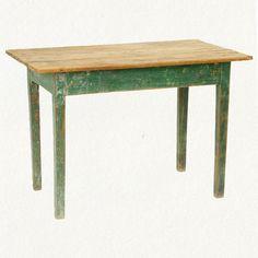 #shopterrain.com          #table                    #terrain: #Green #Painted #Pine #Table              terrain: Green Painted Pine Table                                             http://www.seapai.com/product.aspx?PID=1010295