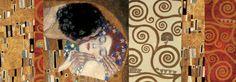 Deco Collage (from The Kiss) Kunst van Gustav Klimt - bij AllPosters.be