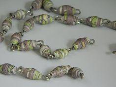 Paper Pendulum: Paper Beads