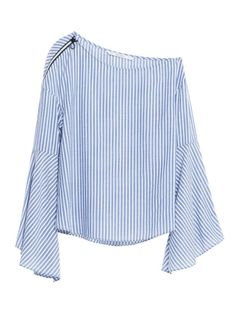 One-shoulder styles are going to be big this fall. Buy into the trend now to be ahead of the curve. Zara top, $36