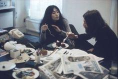 John Lennon and Yoko Ono photographed by John Bulmer, 1969.