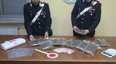 Sant'Angelo d'Alife (Caserta), aveva in casa 1450 grammi di marijuana: arrestato 37enne