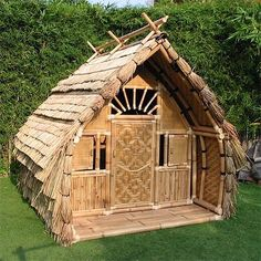 Little bamboo house