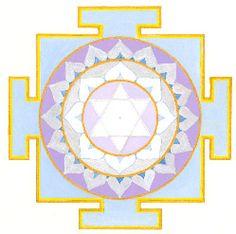 MOON - Planet Yantras - Sacred Mother Arts