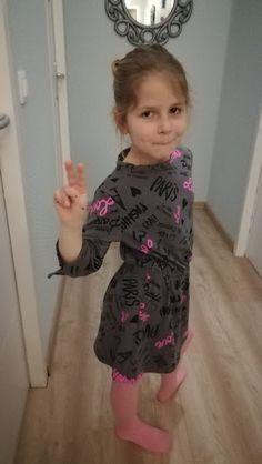 Origamietcie: Une robe-tunique estivale pour Margaux