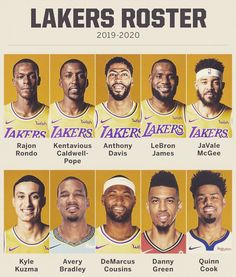 "LeBron James 👑 on Instagram: ""Predict the Lakers 2019-20 record 💜💛"" Lakers Team, Nba Trades, Nba Basketball Teams, King Lebron James, Nba Funny, Nba Memes, Nba Wallpapers, Nba Season, Sports"