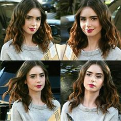 Lily Collins Love Her Lily Collins Hair, Lily Collins Style, Sandra Bullock, Selena, Actrices Hollywood, Fancy Hairstyles, British Actresses, Beauty Women, Hair Inspiration