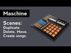 Maschine: How to use Scenes