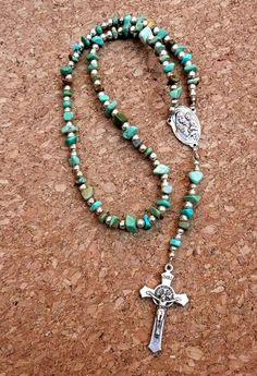 Genuine Natural Kingman Turquoise St. Joseph/St. by IslandGirl77, $24.99