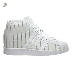 adidas Originals Women's Superstar Up W Fashion Sneaker, White/White/Black, 9 M US - Adidas sneakers for women (*Amazon Partner-Link)