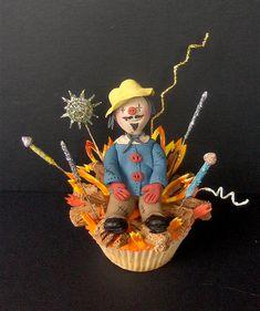 Guy Fawkes Cupcake