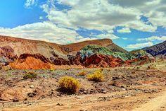 Rainbow Valley, Atacama Desert, Chile