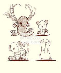 30 Best Cute Monster Drawings Images Cute Monsters Drawings