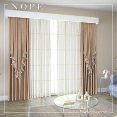 We love to make your homes modern and stylish as much as you. Elegant Curtains, Beautiful Curtains, Modern Curtains, Colorful Curtains, Living Room Decor Curtains, Home Curtains, Curtains For Arched Windows, Rideaux Design, Curtain Designs