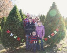 Family photos on location at a local Christmas tree farm. We had a great time!