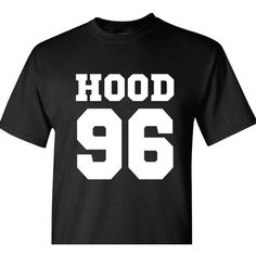 Calum Hood Dob T-Shirt 5 Seconds of Summer T-Shirt Date of Birth ($15) ❤ liked on Polyvore