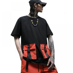 Streetwear T-shirts Summer Hip Hop Cotton //Price: $20.65 & FREE Shipping // #morning #inspiration